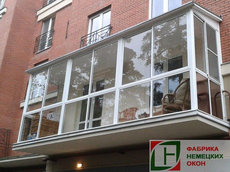 Панорамное остекление домов, лоджий, балконов окна, жалюзи в.